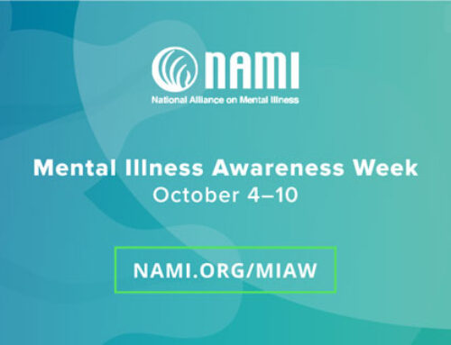 It's Mental Illness Awareness Week! Be Aware. Care. Share.