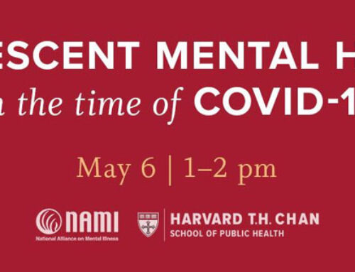 Adolescent Mental Health in the Time of COVID-19