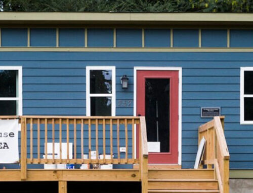 Tiny Homes Part Of Effort To Battle Homelessness For People With Mental Illness