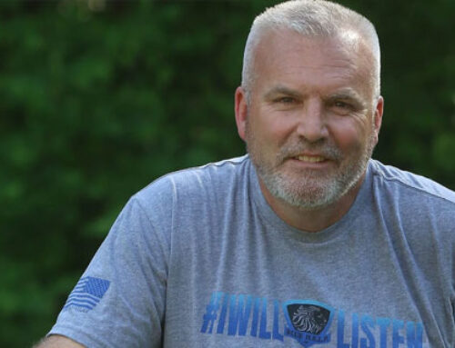 Police Officer's Three-Month, 4,000-Mile Bike Ride For Mental Health Finishes in Gaston County