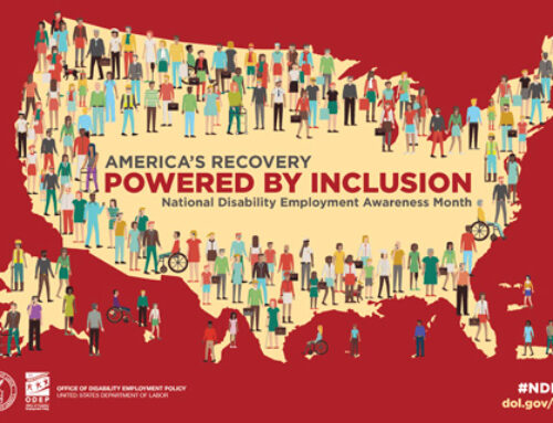It's National Disability Employment Awareness Month #NDEAM